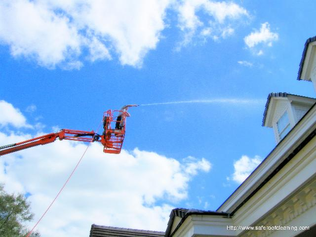 Certified Roof Cleaning In Your Area